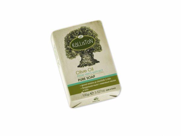 Kálliston Olívaolaj szappan aloe vera kivonattal