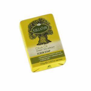 Kálliston Olívaolajos bőrradír szappan zöldtea kivonattal