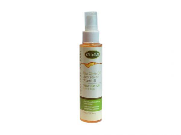 Haj és testápoló olaj avokádóolajjal